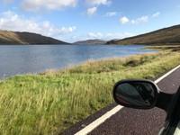 Isle of Skye roadside scenery