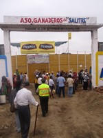 Entrance to the Rodeo Montubio arena
