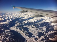 View of the Central Alps