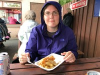 Fish & chips in Portree