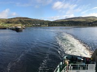 Leaving Uig for the Outer Hebrides