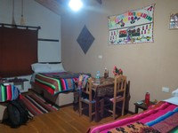 Our room on Lake Titicaca