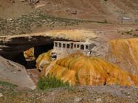 Inca sulphur town
