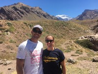 In the Andes