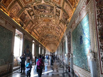 Gallery of Maps at the Vatican Museums
