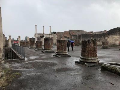 Pompeii Forum, the town's main square
