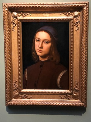 "Perugino, ""Portrait of a Young Man"", ca. 1494"