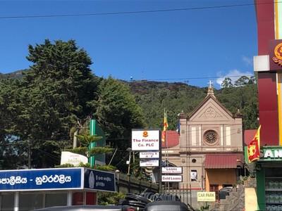 St Xavier's Church and Pidurutalagala