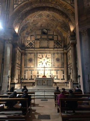 Altar of the Baptistry of the Florence Duomo