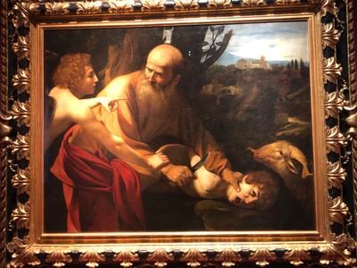 "Caravaggio, ""The Sacrifice of Isaac"", ca. 1603-4"
