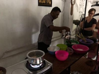 Sri Lankan cookery class at Ella