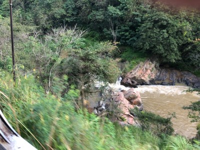 River rapids between Badulla and Ella