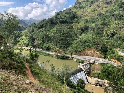 Scenery between Badulla and Ella