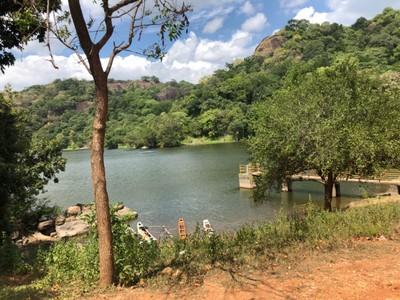 Lake near Buduruwagala