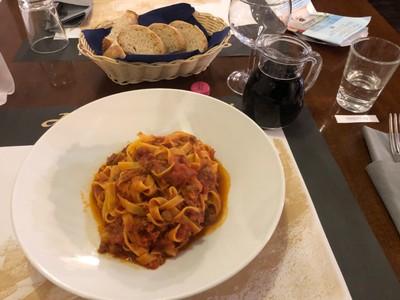 Dinner in San Marino