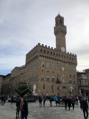 Palazzo Vecchio, the centre of power in the Republic of Florence