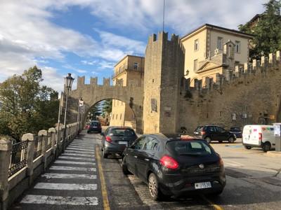 San Marino city wall