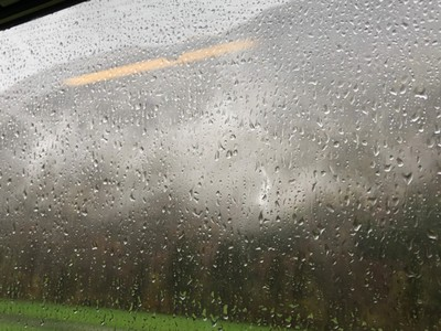 Bohinj Valley in the rain