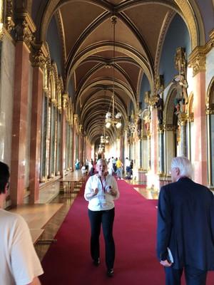 Corridor in Parliament