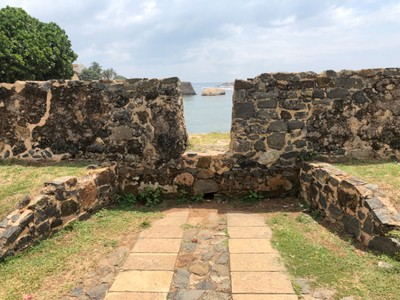 Galle Fort crenellation