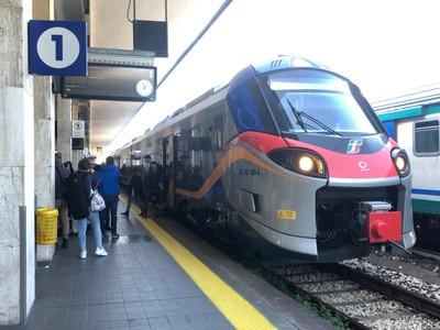 My train from Rimini to Faenza
