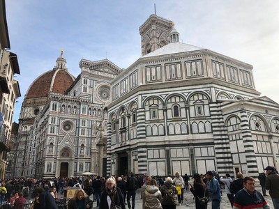 Florence Duomo and the Baptistry