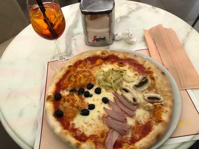 """""""Quattro stagioni"""" pizza in Pisa"""