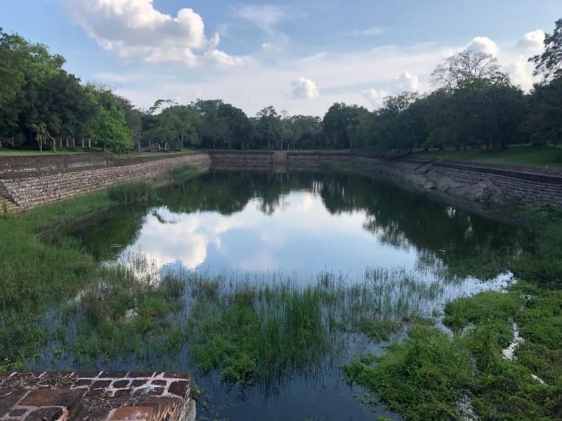 Elephant Pond at Anuradhapura