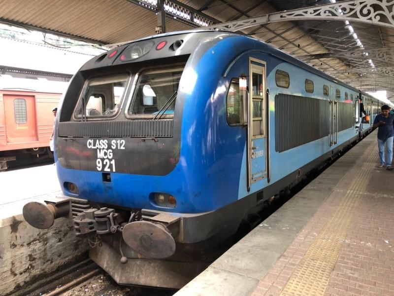 Udarata Manike train at Kandy station