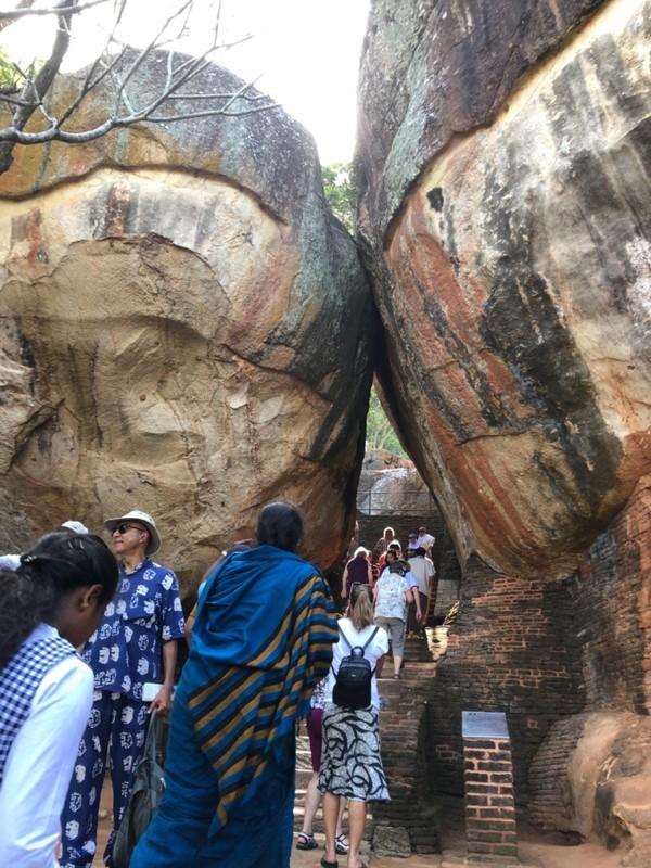 Boulder Arch at Sigiriya
