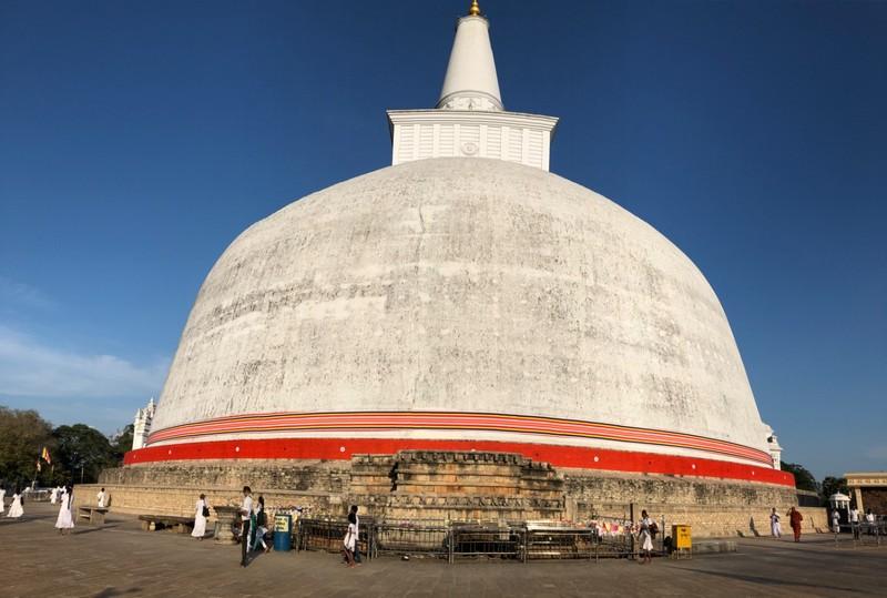 Dagaba at Anuradhapura