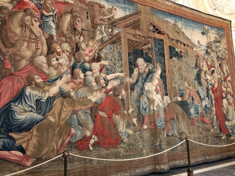 Adoration of the Magi at the Vatican Museums