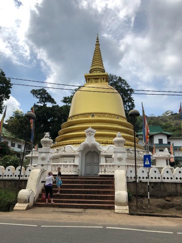 Stupa at Dambulla Golden Temple