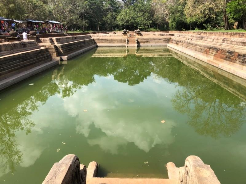 Twin Ponds at Anuradhapura