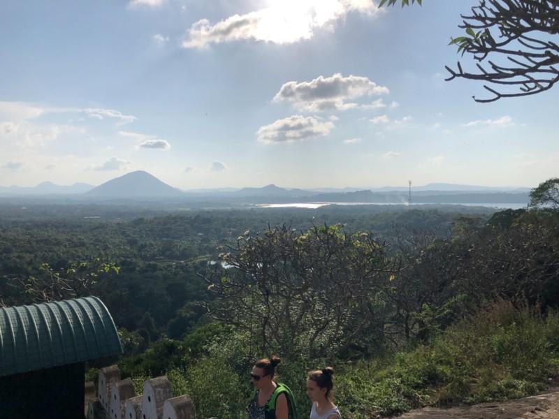 Scenery from Dambulla Cave Temple