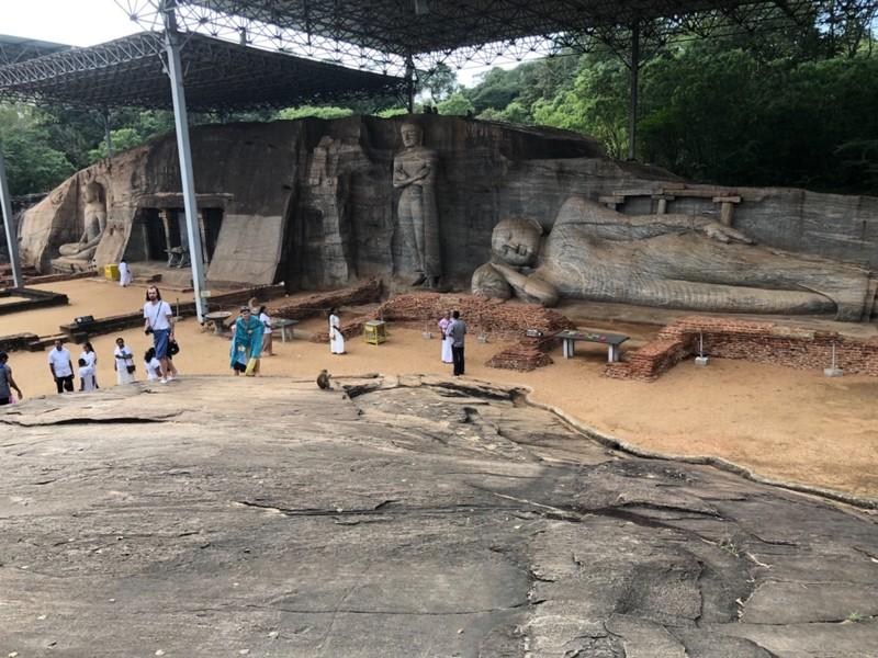 Buddha carvings st Polonnaruwa