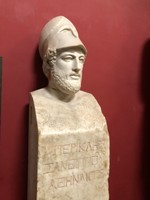 Statue of Ancient Greek statesman Pericles at the Vatican Museums