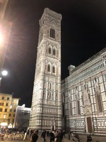 Campanile bell tower of the Florence Duomo
