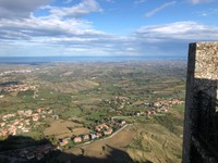 View from the Second Tower to the Adriatic Sea