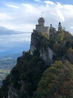 Second Tower of San Marino, the country's highest point
