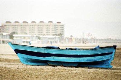 Boat in Valencia