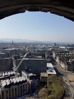 View of Edinburgh from lookout