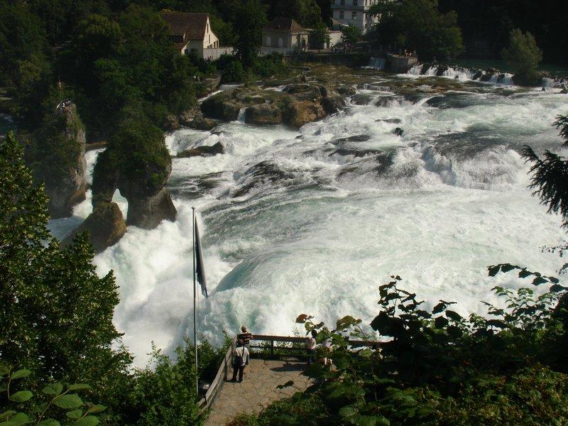 Europe's biggest waterfall: Reinfalls