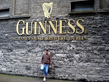 Myself and Guinness