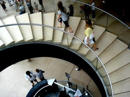 louvre museum stair