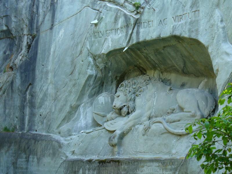 Lucerne Lion monument, Switzerland