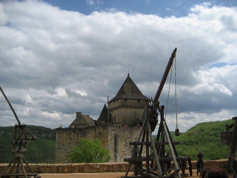 Castelnaud Catapults