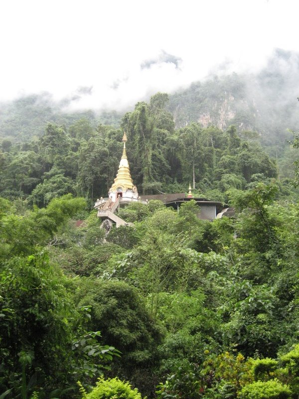 The Monastery at the end of the road