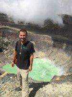 Santa Ana Volcanic Crater