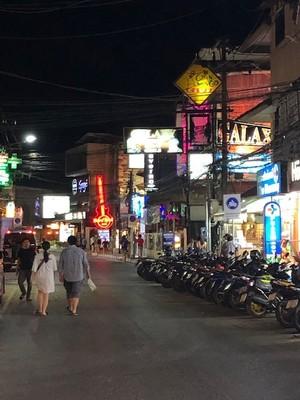 Chaweng main street